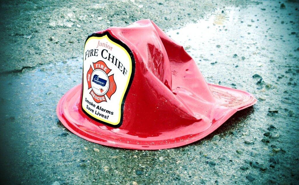 fireman's hat, hat, fireman