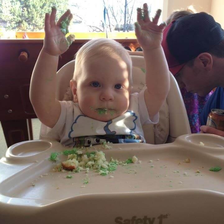 cupcake, cake smash, Madden, 1st birthday, Happy Birthday Madden