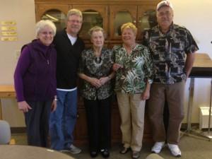 Mom, Me, Auntie Muriel, Linda, Lloyd