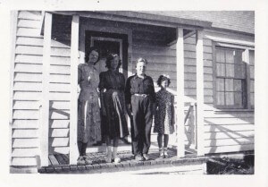 Olsen Family, In Watrous, Saskatchewan.