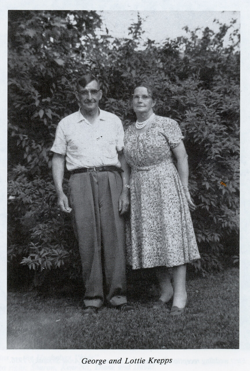 George and Lottie Sklapsky-Krepps